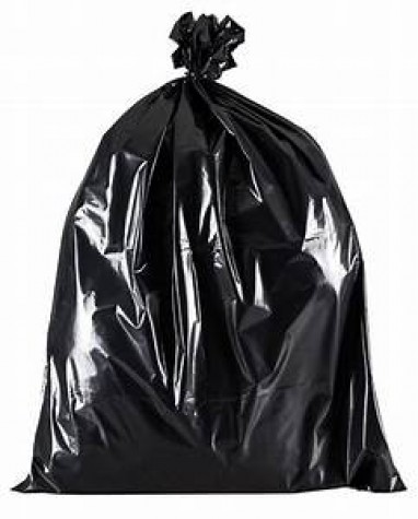 200 BLACK BIN BAGS / REFUSE SACKS RUBBISH REMOVAL
