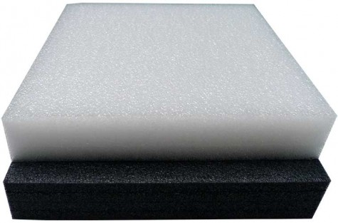 BLACK ETHAFOAM | STRATOCELL | CLOSED CELL FOAM SHEETS BLOCKS | 50MM (50CM) | POLYETHYLENE LOW DENSITY PACKAGING CRAFT INSULATION FOAM