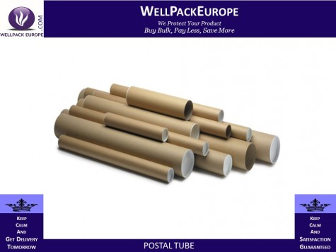 A3/A4 Postal Tubes - 330x45mm + End Caps