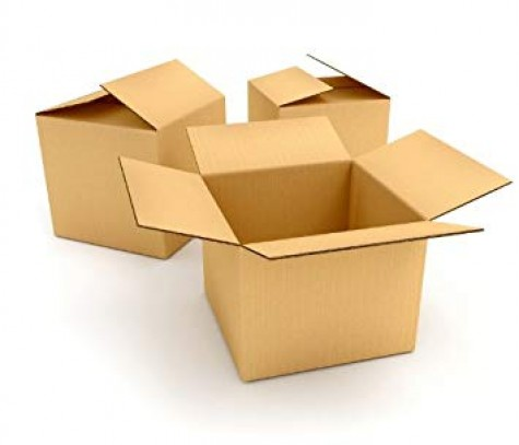 "10 x Single Wall Cardboard Packing Postal Boxes 18""x12""x7"""