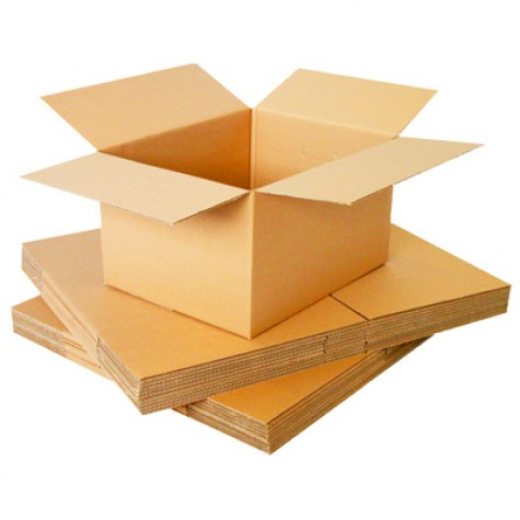 "Double Wall Cardboard Boxes 10""x10""x10"" 
