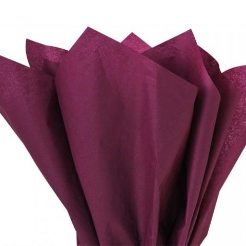 Burgundy Acid Free Tissue Paper