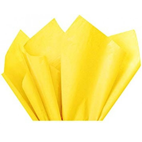 Yellow Acid Free Tissue Paper