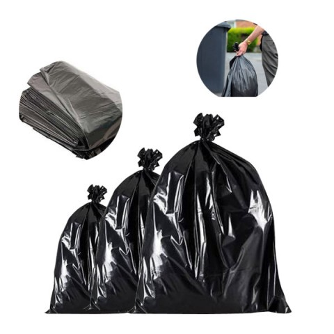 Black Bin Bags Refuse Sacks Bin Liners Rubbish Removal Cleaning Bags