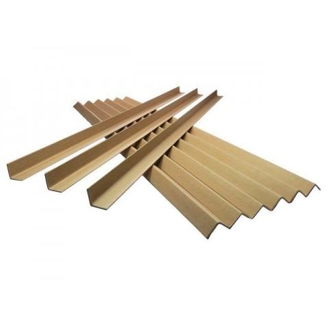 Cardboard Edge Guard Pallet Protectors 35mm x 35mm x 1.5M L-Profile x 25