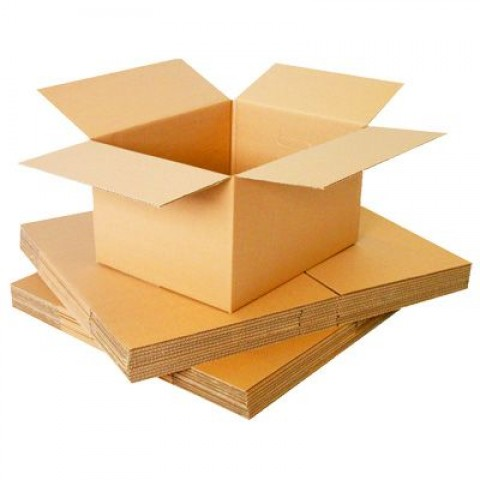 Large Double Wall Cardboard Removal Boxes 16x16x16 "