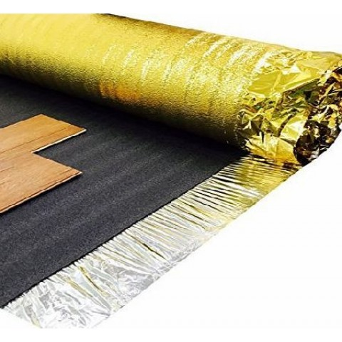 WOODEN & LAMINATE FLOORING UNDERLAY FOAM | SONIC GOLD |