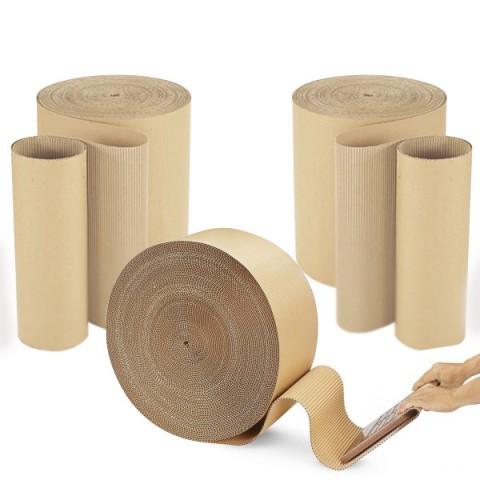 Corrugated Cardboard Paper Roll 300mm x 75M