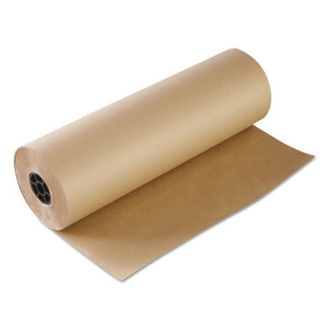 Imitation Kraft Paper Wrapping Brown Packing Paper Roll 1200mm x 200M