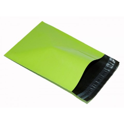 "Strong Neon Green Postal Parcel Shipping Mailing Bags  | 10x14 "" ( 250x350 mm )"
