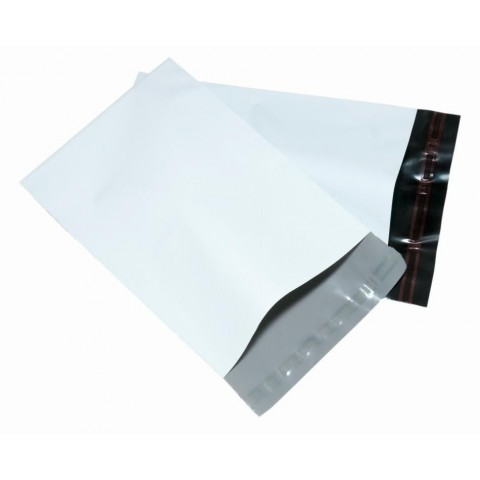 "STRONG WHITE MAILING BAGS | 10x14 "" ( 250x350 mm )"
