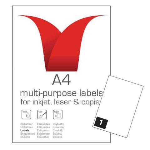 A4 Sheets of Printer Address Labels