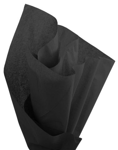 100 x Black Acid Free Tissue Packing Paper Sheets Gift Party Clothes Wrap