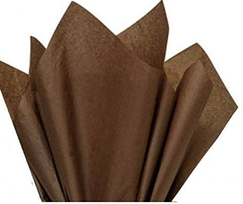 100 x Brown Acid Free Tissue Packing Paper Sheets Gift Party Clothes Wrap