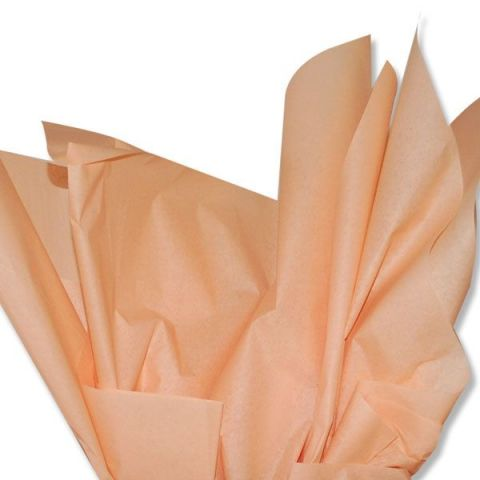 100 x Peach Acid Free Tissue Packing Paper Sheets Gift Party Clothes Wrap