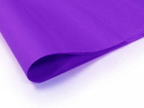 100 x Purple Acid Free Tissue Packing Paper Sheets Gift Party Clothes Wrap