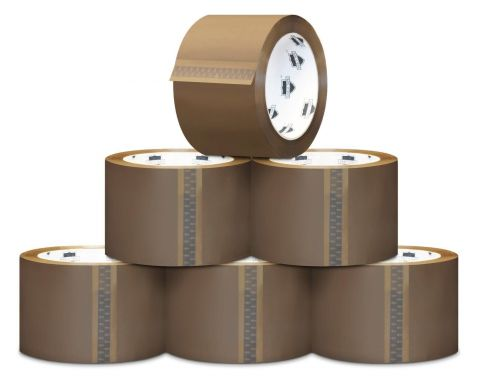 Acrylic Low Noise Brown Tape 75mm x 66m