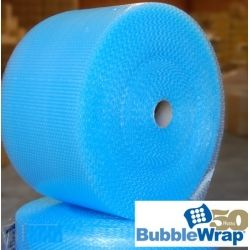 Anti Static Blue Bubble Wrap Roll 500MM x 100M | Anti Static Small Bubbles