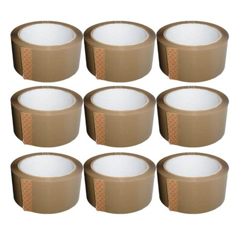 Brown Vinyl Tape (48mm x 66m) Heavy Duty