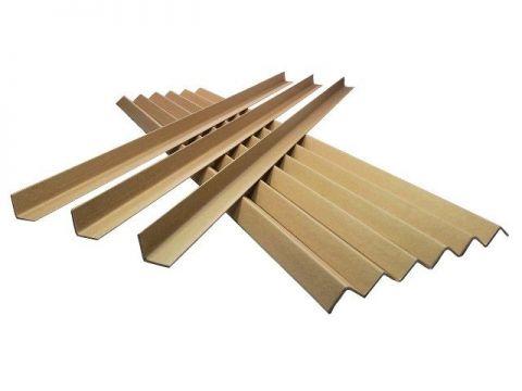 Cardboard Edge Guard Pallet Corner Protectors 35x35mm x 1.2M L-Profile x 10