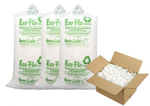 Eco Flo Packing Peanuts Chips Loose fill / Void fill Bag