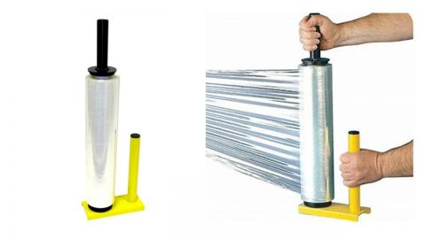 PALLET STRETCH SHRINK WRAP DISPENSER / HOLDER