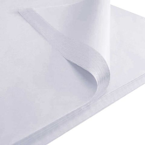 White Acid Free Tissue 500mm x 750mm