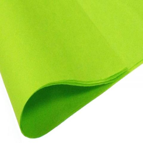 Lime Green Acid Free Tissue Paper