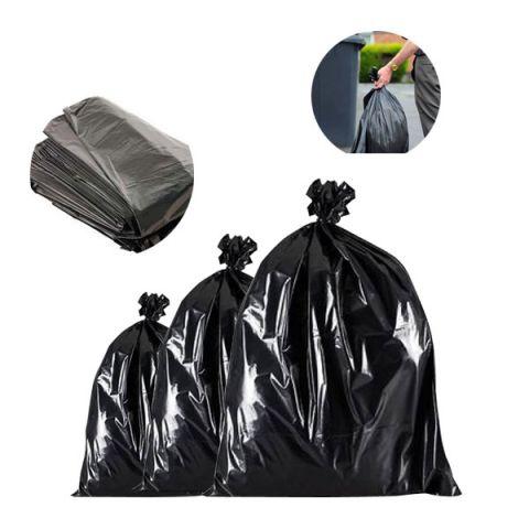 Black Bin Bags Refuse Sacks Bin Liners Rubbish Removal Cleaning Bags