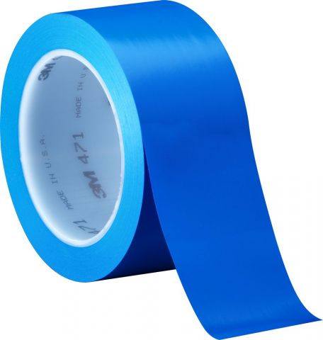 Blue Coloured Packing Tape 50mm x 66m