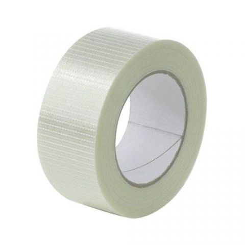 Crossweave Reinforced Tape 50mm x 50m